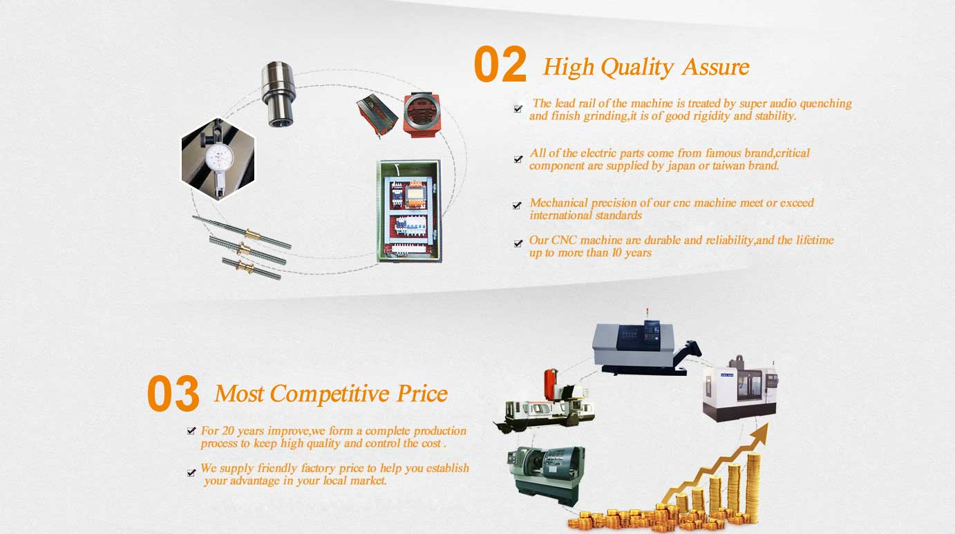 our adventage for cnc machine factory